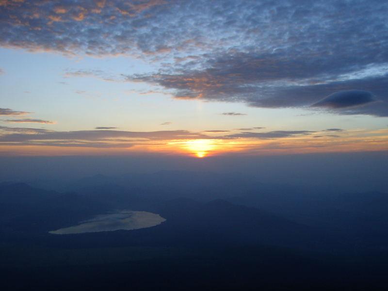 美しい日の出