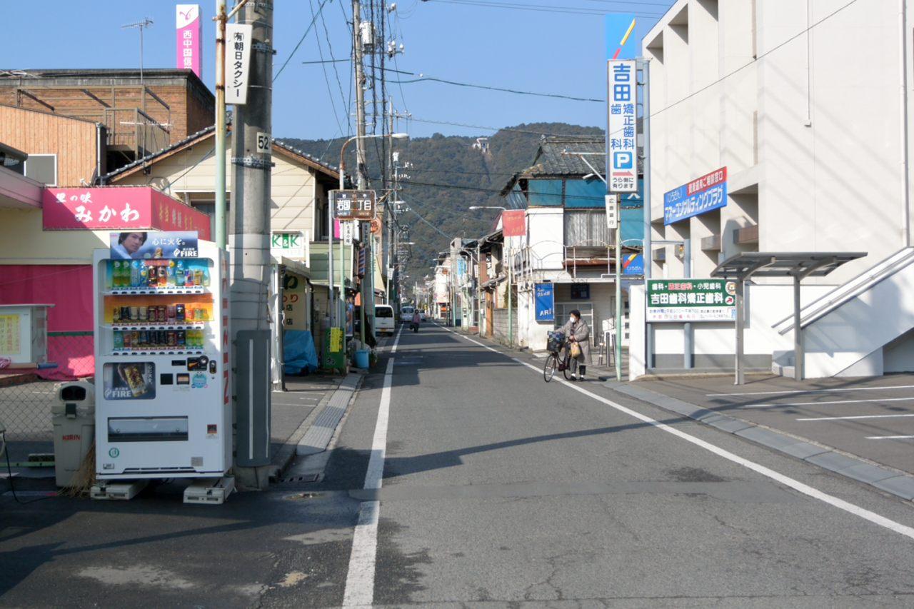 旧街道っぽい道