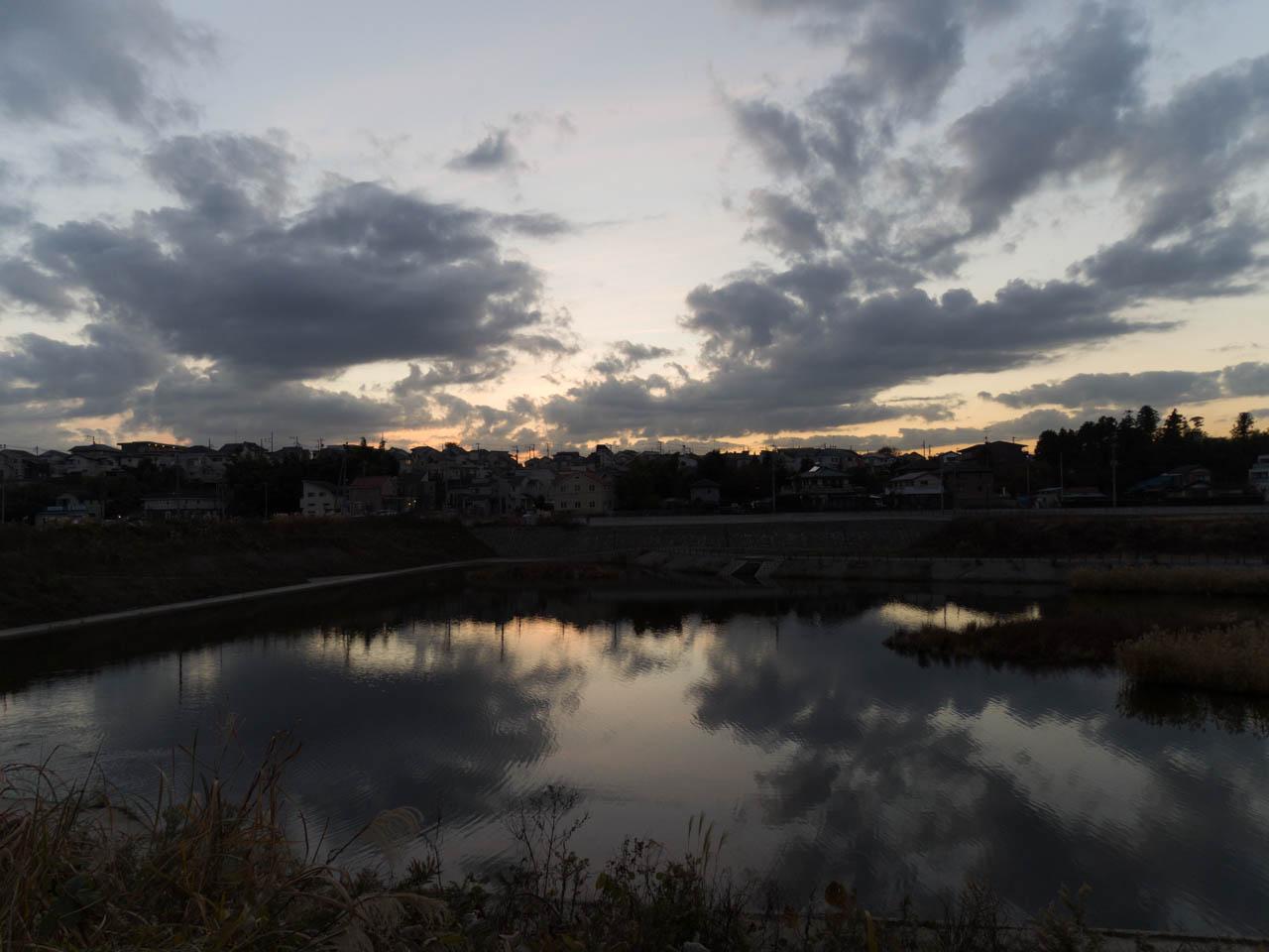湘南台の遊水地