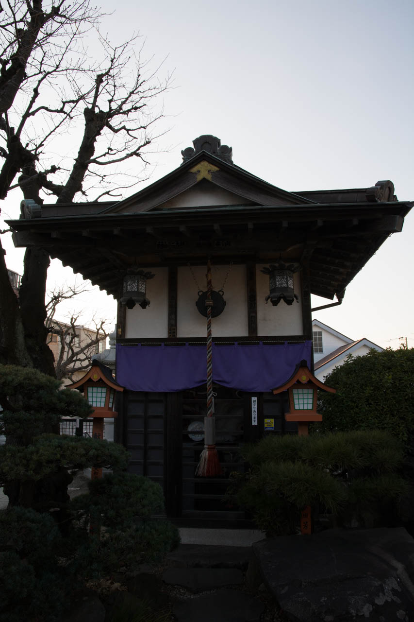 宝蔵寺の弁財天