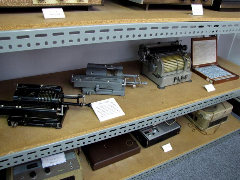 タイガー計算機や漢字タイプライター