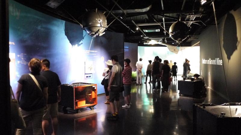 機雷戦に関する展示