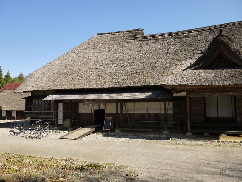 山村道場にある蕎麦屋