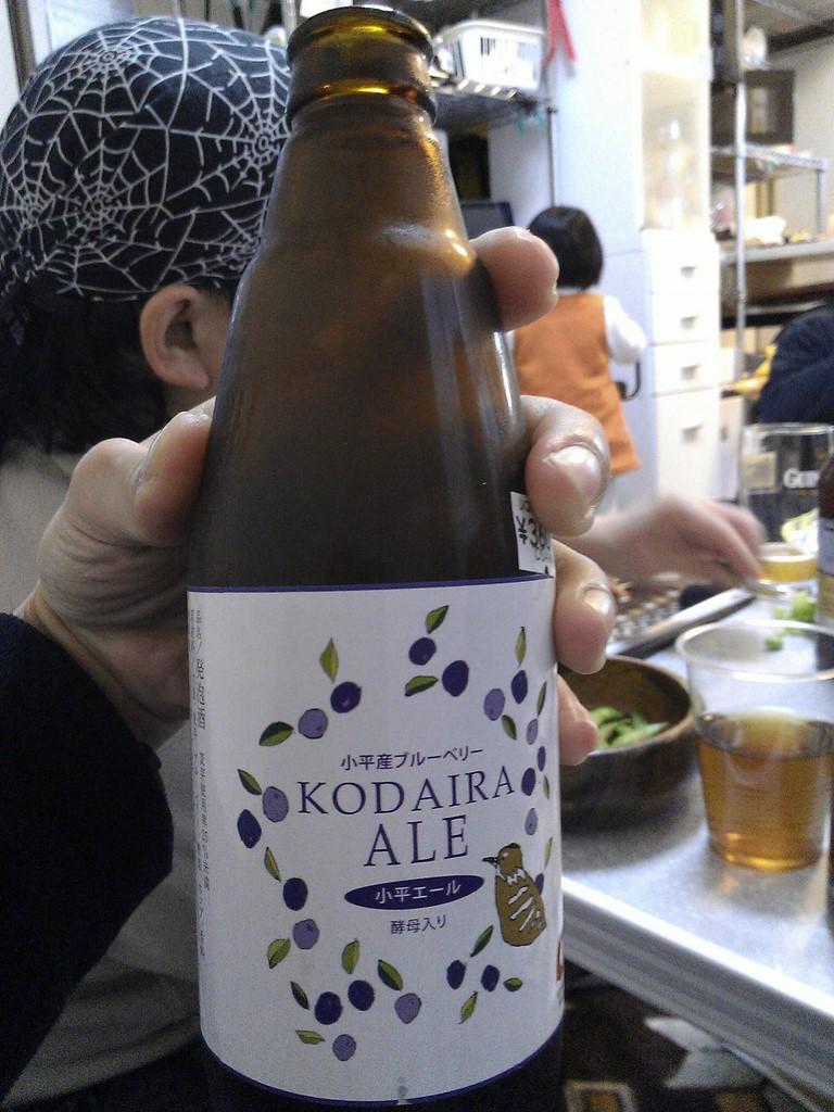 ビールを食らったり