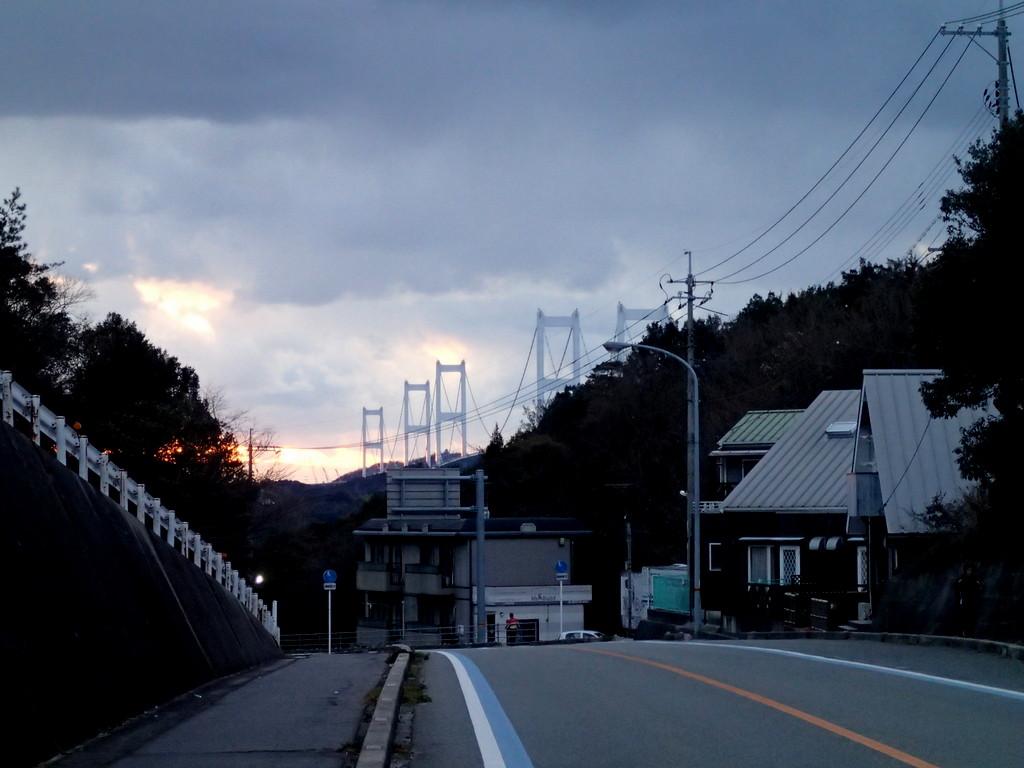 来島海峡大橋の偉容を遠望する頃