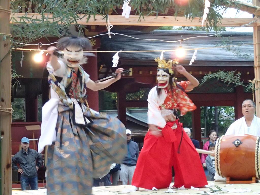 陸前高田のお神楽