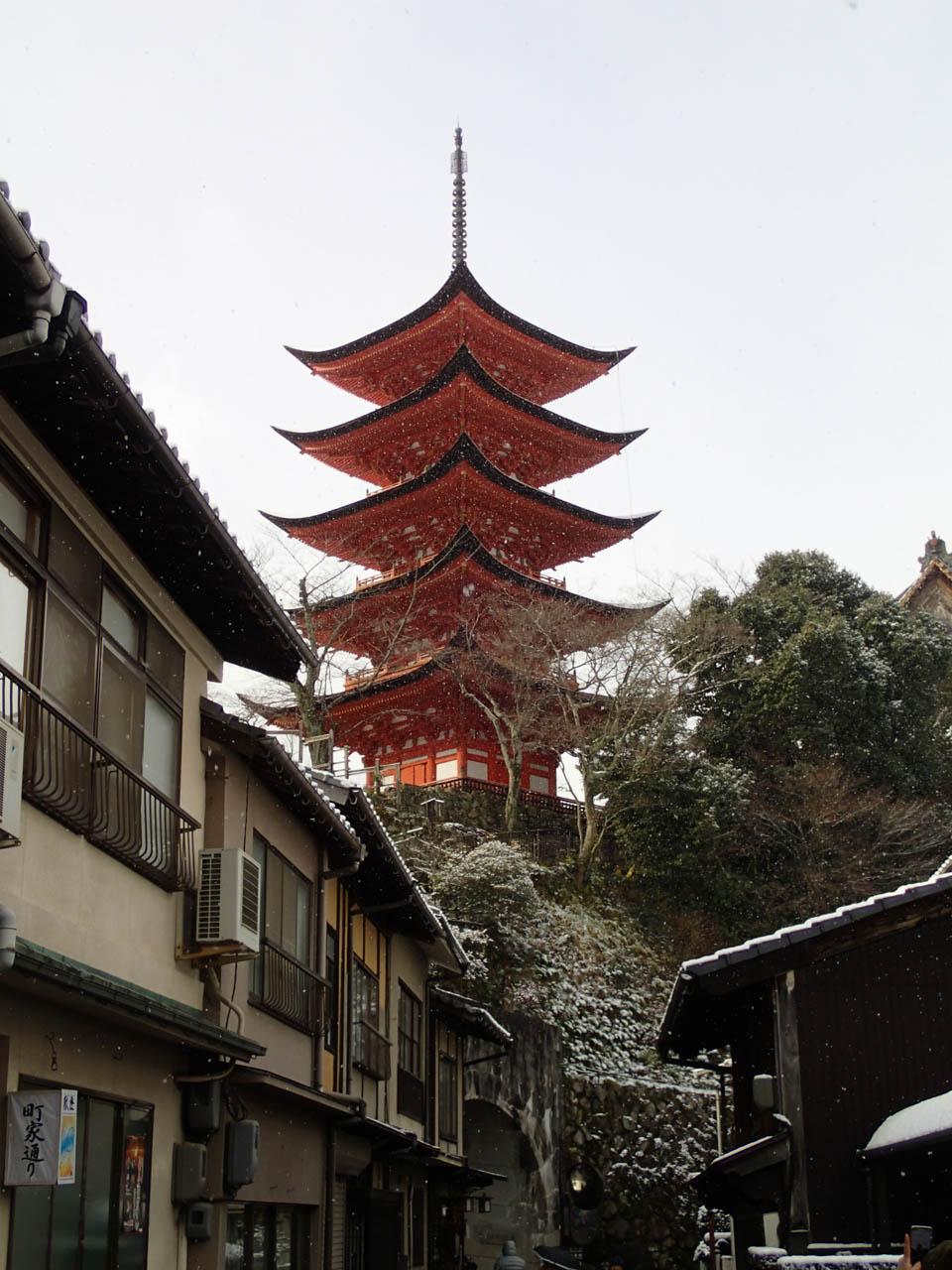 豊國神社五重塔