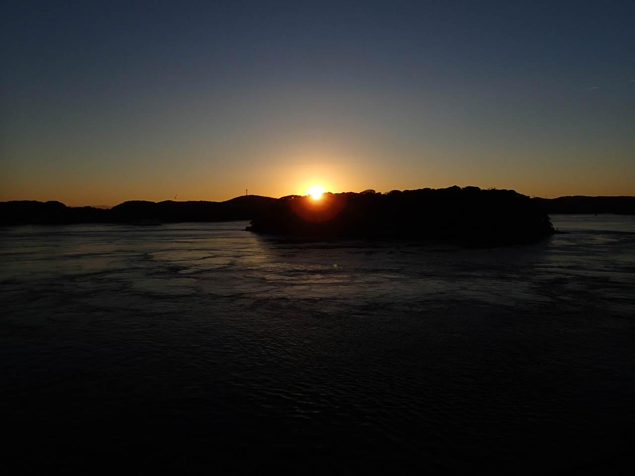 平戸の夜明け