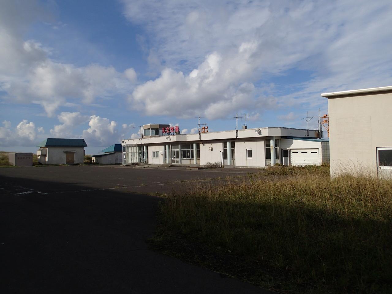 礼文空港のターミナル