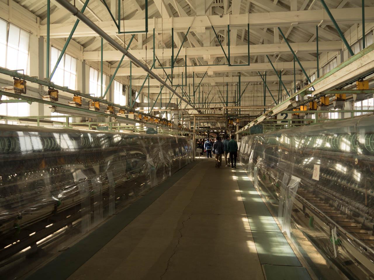製糸設備も残されている
