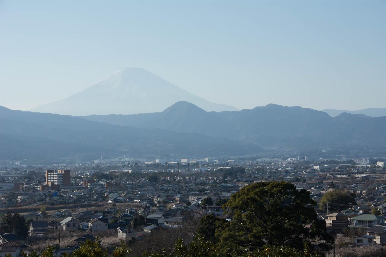 富士がさらによく見える