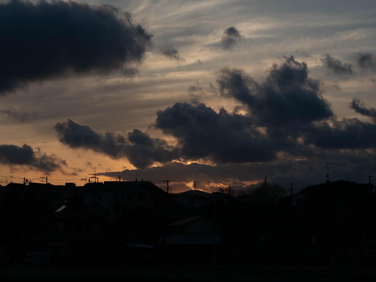 富士山もよく見えた