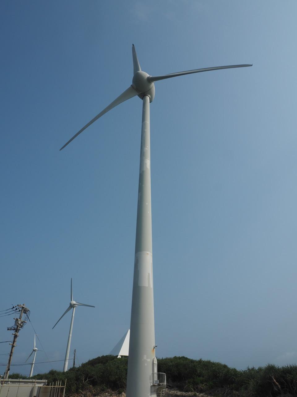 ここにも風車は数多い