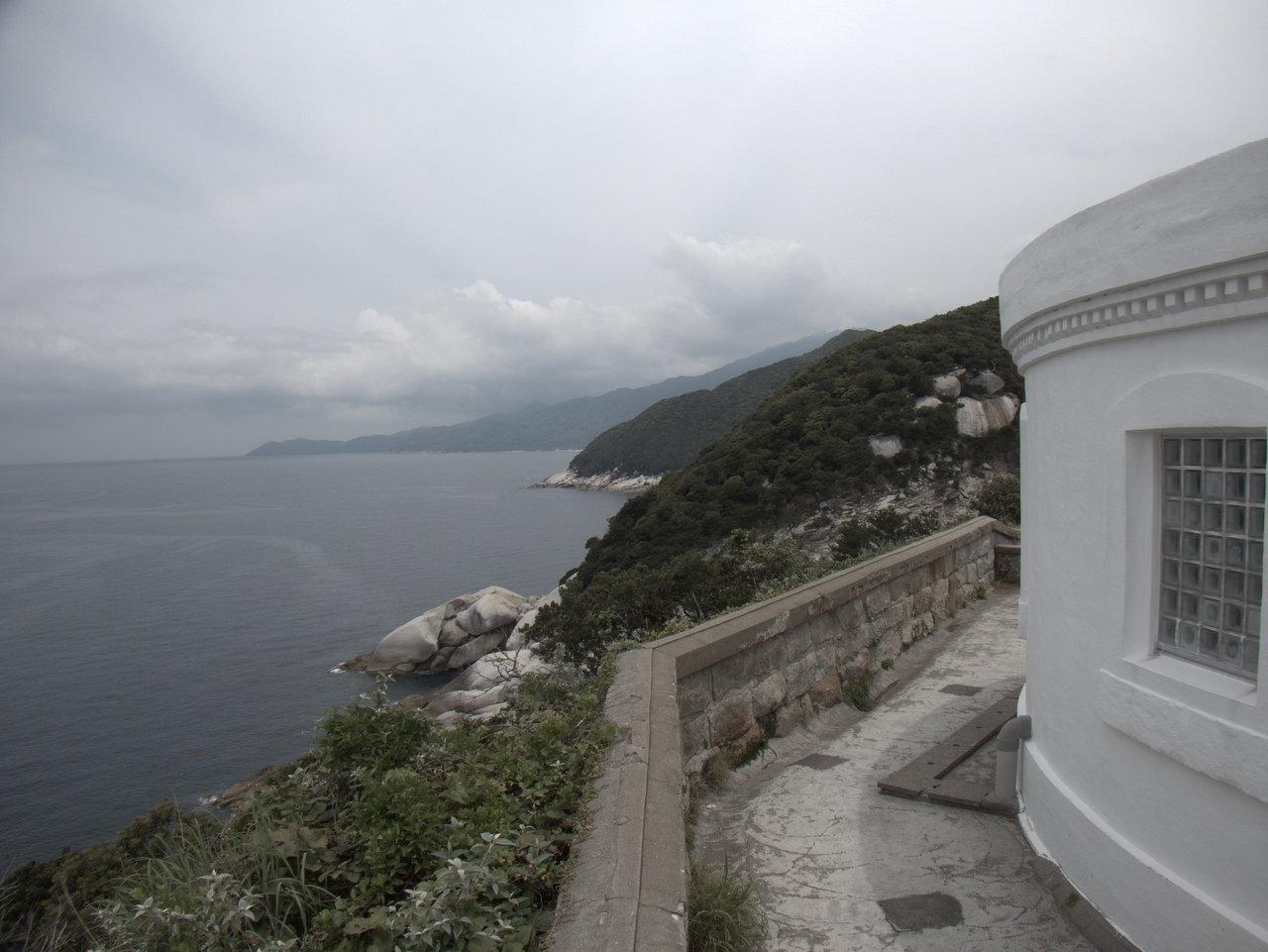 灯台からの見晴らしは良い