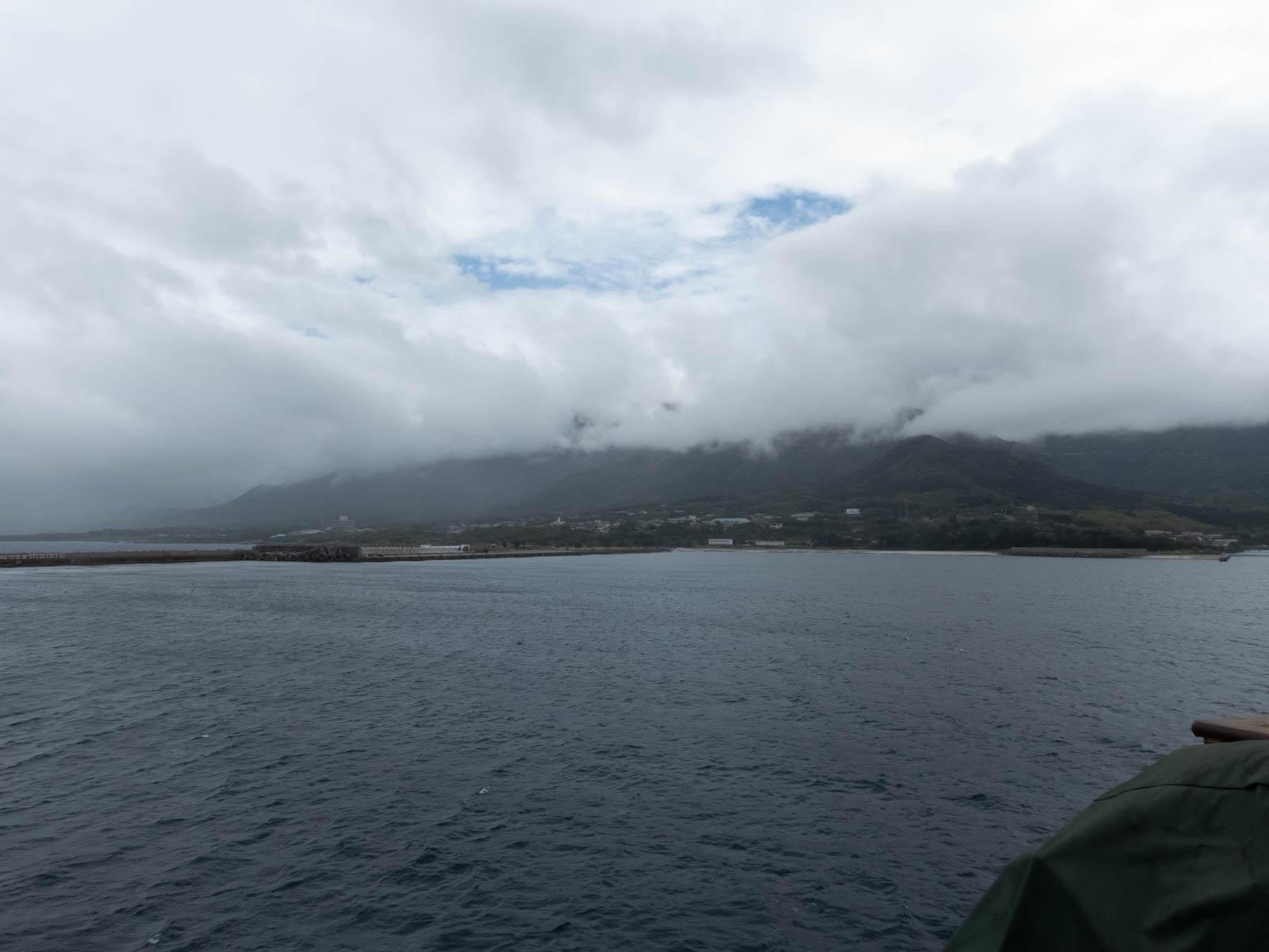 屋久島に別れを告げる