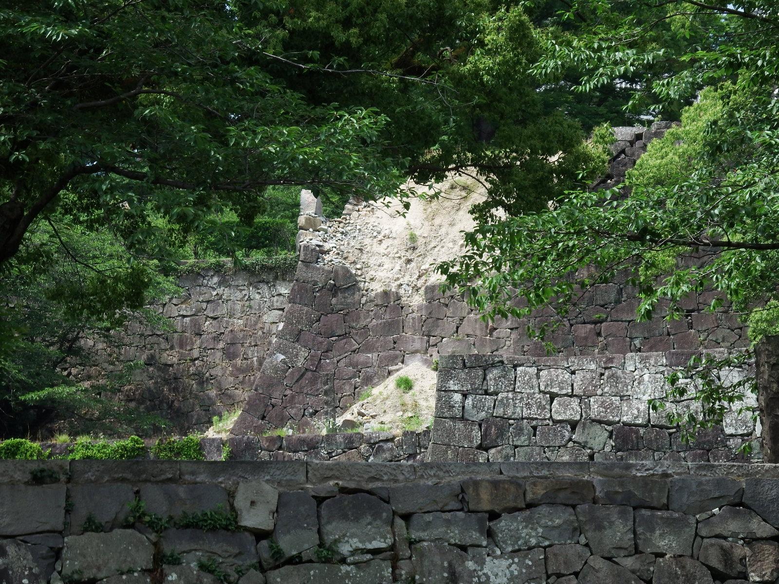 熊本城の被害は甚大